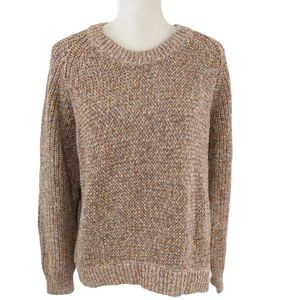 Madewell Marled Cider Beverly Pullover Sweater XXL